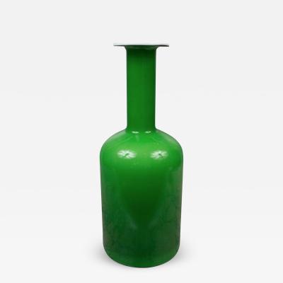 Otto Brauer Holmgaard Gulvase Glass Vase
