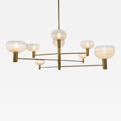 Otto Luce Four Tier Otto Luce Chandelier