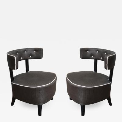 Otto Schulz A pair of armchairs by Otto Schulz Sweden 40
