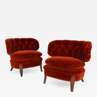 Otto Schulz Easy Chairs 1940s