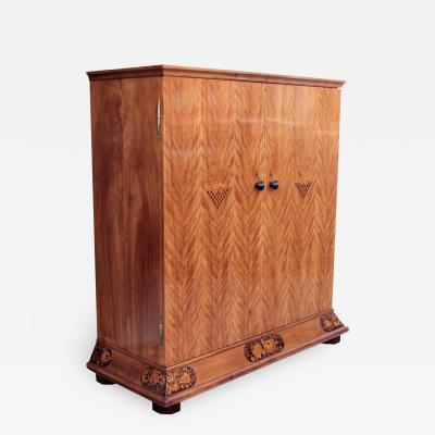 Otto Schulz Swedish Art Deco cabinet