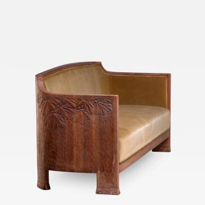 Otto Wretling Otto Wretling Art Nouveau sofa