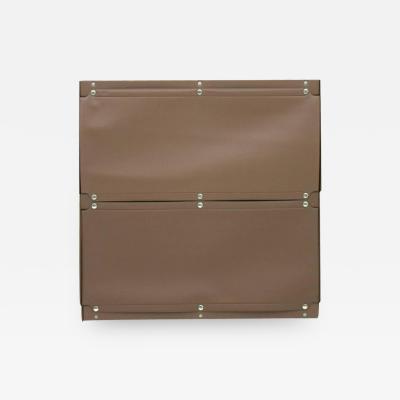 Otto Zapf Brown Softline Plastic Shelf Germany 1971