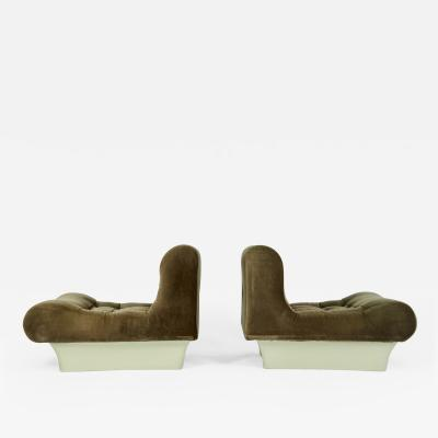 Otto Zapf Pair of Otto Zapf Lounge Chairs for Vitsoe