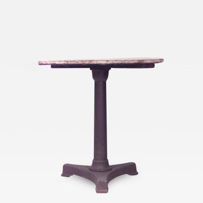 Outdoor Iron Cafe Table