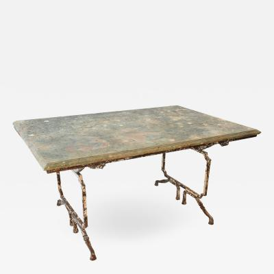 Outstanding 19th Century Garden Table