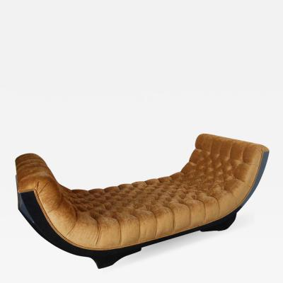 Outstanding Art Deco Chaise Lounge