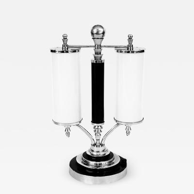 Outstanding Large 1930 s Streamline Art Deco Table Lamp