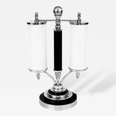Outstanding Large 1930s Streamline Art Deco Table Lamp