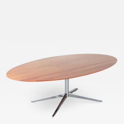 Oval Dining Table by Florence Knoll for Knoll International USA 1970