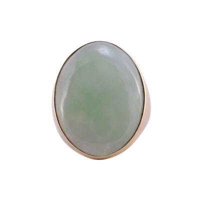 Oval Jade Ring