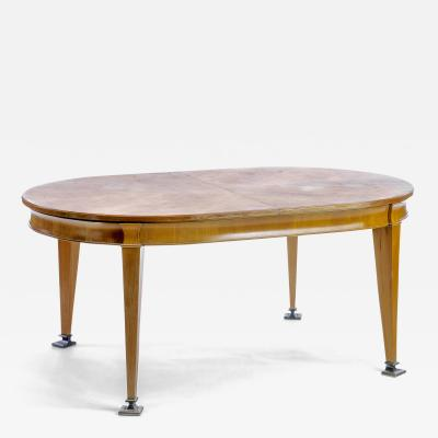 Oval superb Neo classic 40s dinning table with awesome