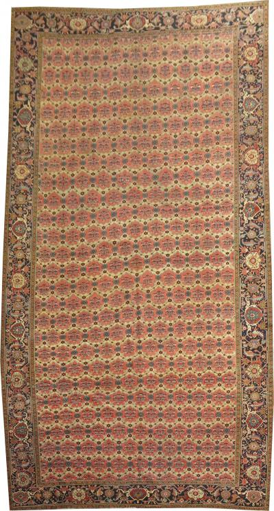 Oversize Antique Persian Serapi Rug rug no 10292