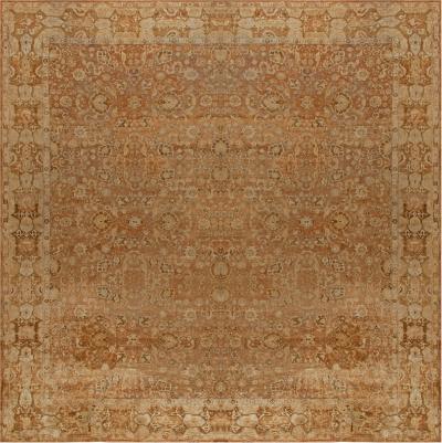 Oversized Antique Indian Agra Carpet