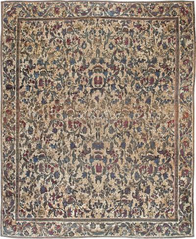 Oversized Antique Indian Carpet