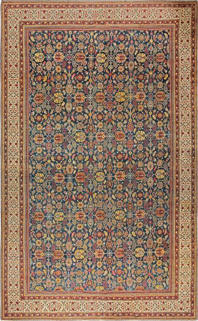 Oversized Antique North Indian Carpet