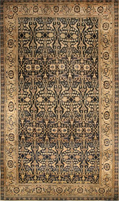 Oversized Antique Persian Senneh Rug