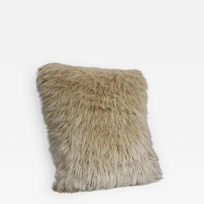 Oversized Faux Mongolian Lamb Floor Pillow