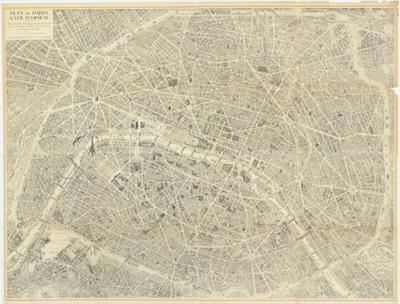 Oversized Map of Paris