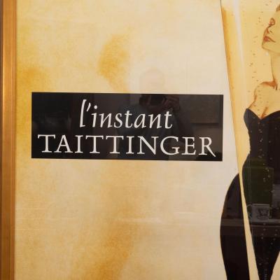 Oversized l instant taittinger Champagne Poster