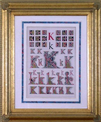 Owen Jones Owen Jones Initial Letters K Alphabet 1864