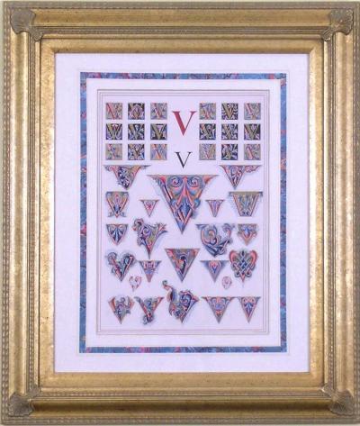 Owen Jones Owen Jones Initial Letters V Alphabet 1864