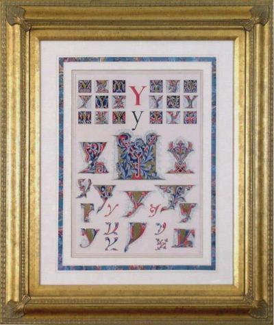 Owen Jones Owen Jones Initial Letters Y Alphabet 1864