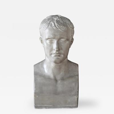 P P Caproni Brother A Plaster Bust Napoleon Bonaparte