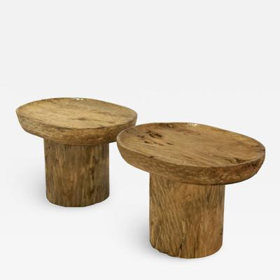 PAIR COFFEE TABLE AE