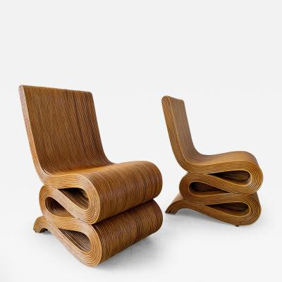 PAIR OF BAMBOO CHAIRS
