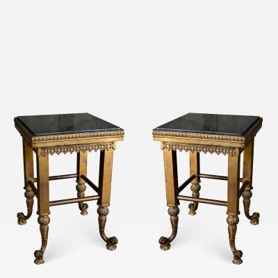 PAIR OF CONTINENTAL NEOCLASSICAL TABLES