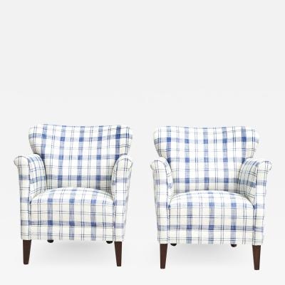 PAIR OF EASY CHAIRS DANISH DESIGN AND CABINETMAKER 1950S