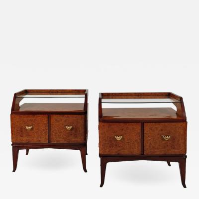 PAIR OF NIGHT STANDS ITALY 1940