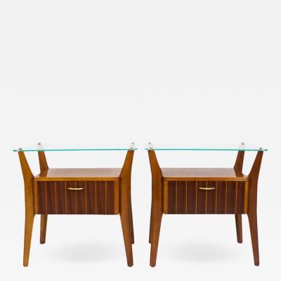 PAIR OF NIGHT STANDS ITALY 1950