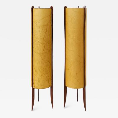 PAIR OF SCANDINAVIAN FLOOR LAMPS 1960