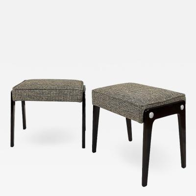 PAIR OF SMALL BANQUETTES ITALY 1950