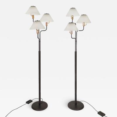 PAIR OF STANDING LAMPS ITALY 1980