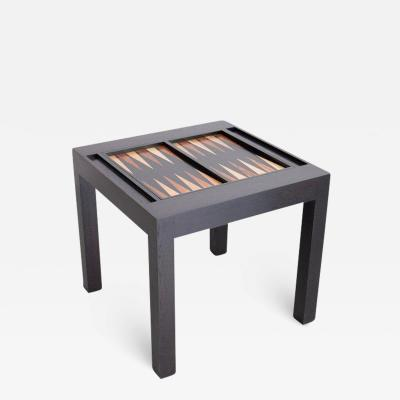 PARSONS STYLE BACKGAMMON TABLE