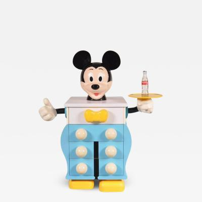 PIERRE COLLEU 1980s Mickey Mouse Cabinet by Pierre Colleu for Starform France