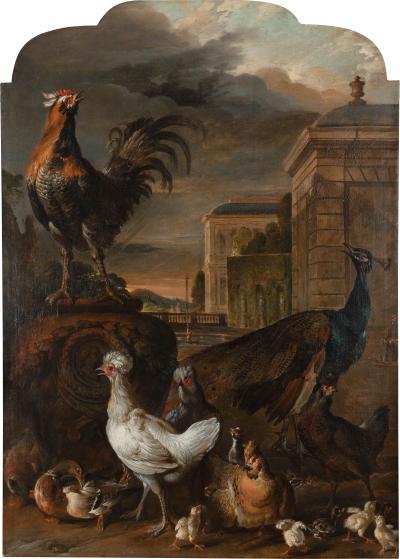 PIETER JANSZ VAN RUIJVEN ATTRIBUTED TO PIETER JANSZ VAN RUIJVEN DELFT 1651 1716
