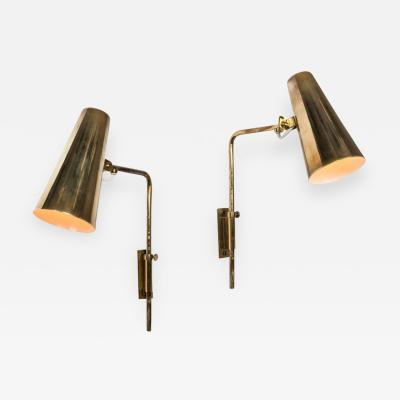 Paavo Tynell 1950s Paavo Tynell Model 9459 Wall Lights for Taito OY