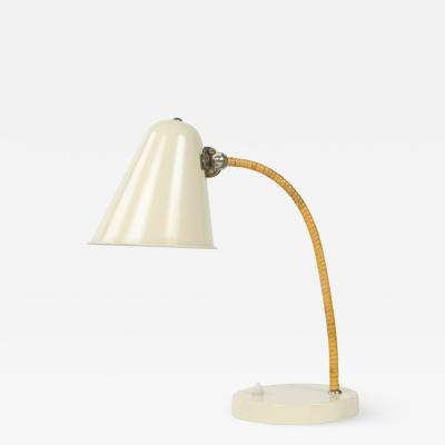 Paavo Tynell CANE WRAPPED DESK LAMP