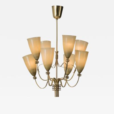 Paavo Tynell Chandelier by Paavo Tynell for Taito Oy