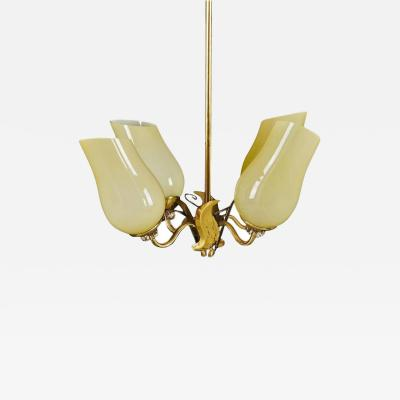 Paavo Tynell Chandelier in Paavo Tynell Style