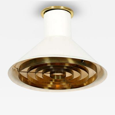 Paavo Tynell Finnish Ceiling Light Paavo Tynell for Taito