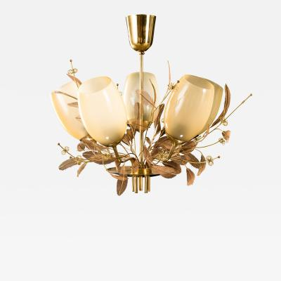 Paavo Tynell Five Arm Chandelier Model 9029 5