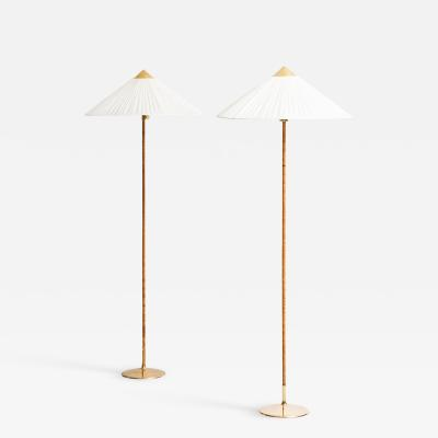 Paavo Tynell Floor Lamps Model 9602 Produced by Taito Oy