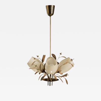 Paavo Tynell Four Arm Chandelier by Paavo Tynell for Taito Oy Model 9029 4