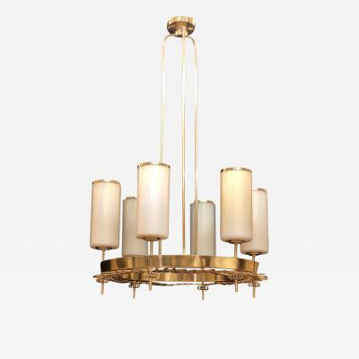 Paavo Tynell Large Chandelier by Paavo Tynell for Taito Oy