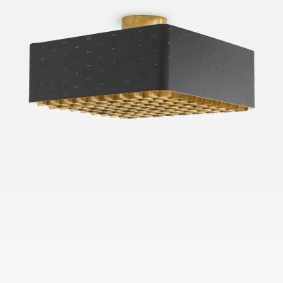 Paavo Tynell Paavo Tynell Ceiling Lamp Model 9068 Idman Oy Pair Available